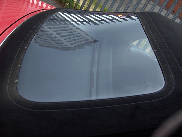 Porsche Boxster Plastic Rear Window Cold Crack