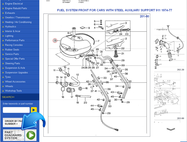 porsche parts diagrams for classic 911 s now online design911 rh design911 co uk porsche parts diagrams on cd-rom
