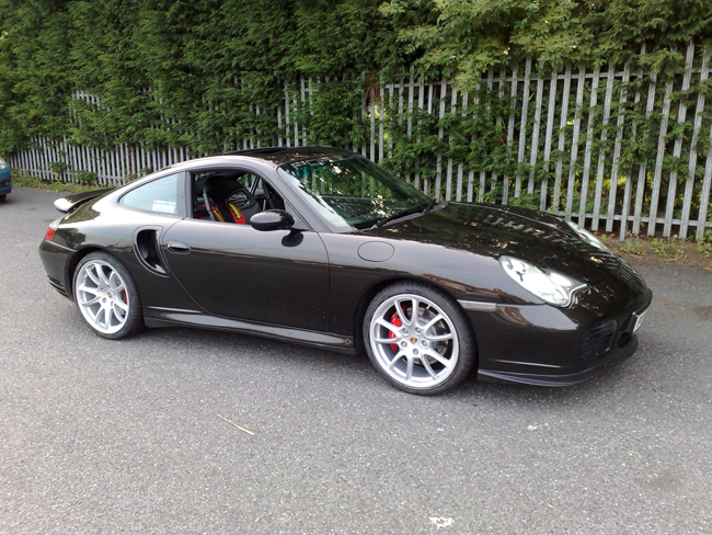 Project Cars Porsche 996 Turbo With 19 Quot Style 1052 Alloy