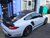 Porsche Carbon Vehicle Wrap
