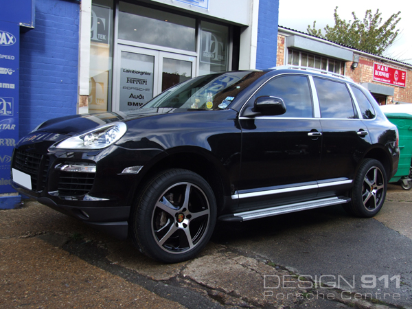 Project Cars - Porsche Cayenne with 20