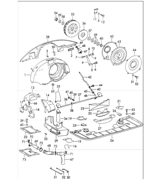 912 1965 1989 Air Cooling Parts