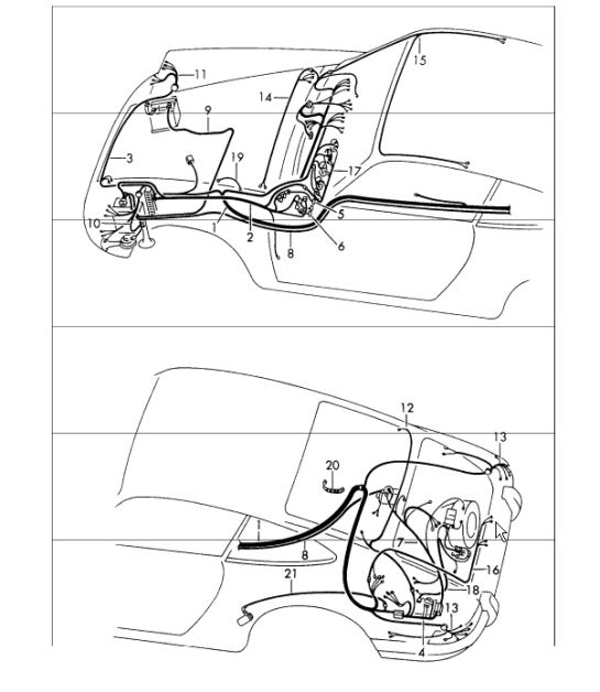1977 Porsche 911 Brake Light Wiring Diagram