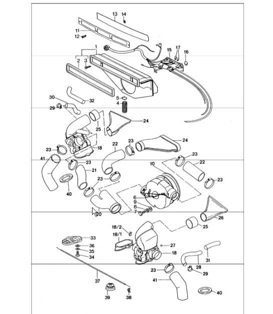 Ventilation Heating System 2 911 Turbo 1977 Onwards: 1976 Porsche 912e Engine Diagram At Hrqsolutions.co