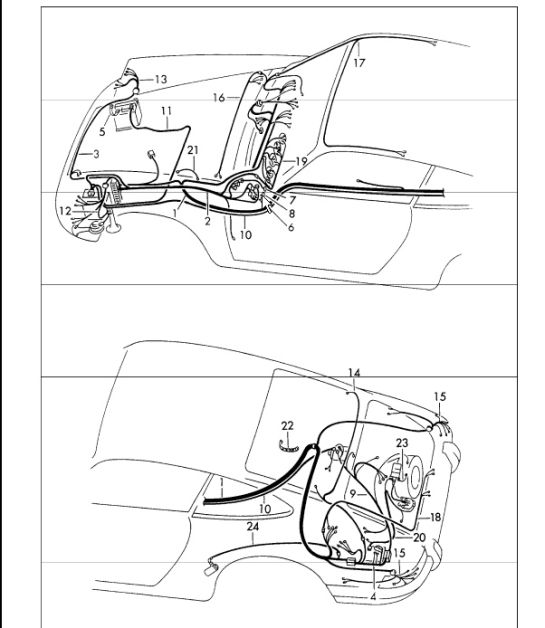 1989 Porshce 930 Engine Wiring Diagram
