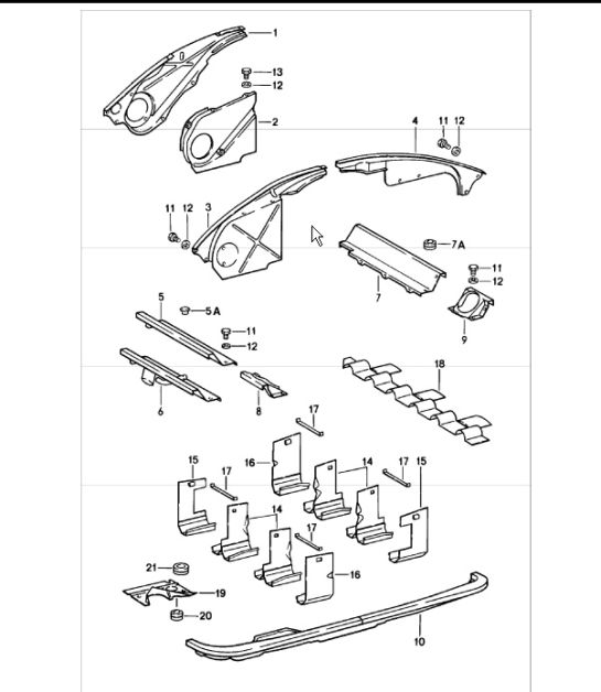Air Duct Engine Cover 911 197883: Porsche 911 Engine Wiring Diagram At Hrqsolutions.co