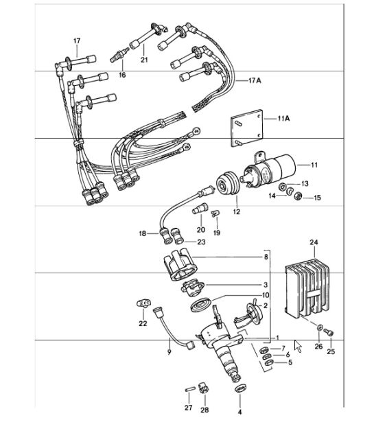 Engine Electrics 1 911 Turbo 198486: 3 Wire Cdi Wiring Diagram At Downselot.com