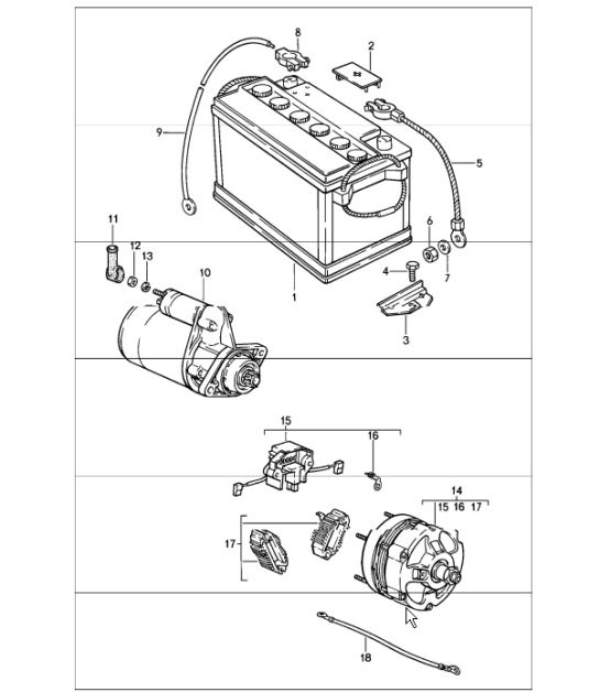 porsche 914 wiring diagram for the starter