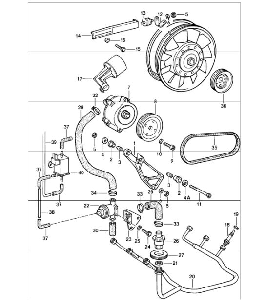 air injection 911 CARRERA 930.26 1987-89