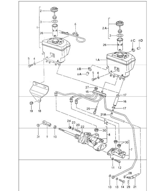 service manual  1989 maserati 228 diagram showing brake