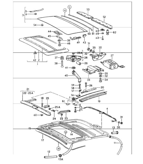 1984 Porsche 944 Sunroof Wiring Diagram
