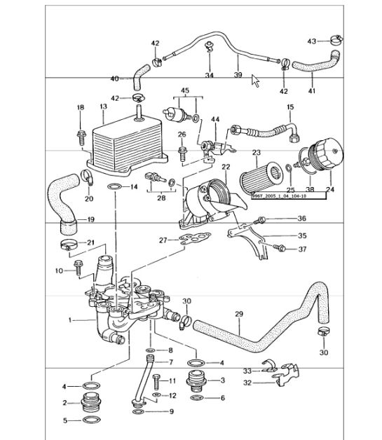 porsche 996 engine diagram water pump  porsche  auto
