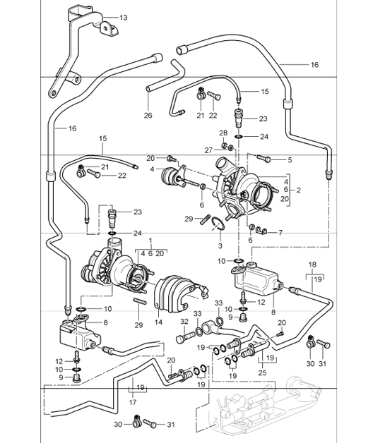 Porsche 964 Turbo Oil Pipe Gasket 93010712301   93010712301 likewise anybody have engine oil circuit diagram     Rennlist   Porsche in addition  together with Porsche 911 Carrera Oil Cooler Upgrade   911  1965 89    930 Turbo in addition Buy Porsche 911 912 1965 1989 996 TURBO 2000 05 Oil Coolers besides Water Temperature Sensor Porsche   99660641000   Design 911 also Engine General   Porsche 911 1984 1989   Porsche Archives besides Oil Circulation Diagram    Rennlist   Porsche Discussion Forums furthermore Current flow diagram 930 Turbo USA Model   Porsche 930 Turbo further  moreover Buy Porsche 996  911  1997 05 Turbo Chargers   Intercoolers. on porsche 911 turbo oil flow diagram