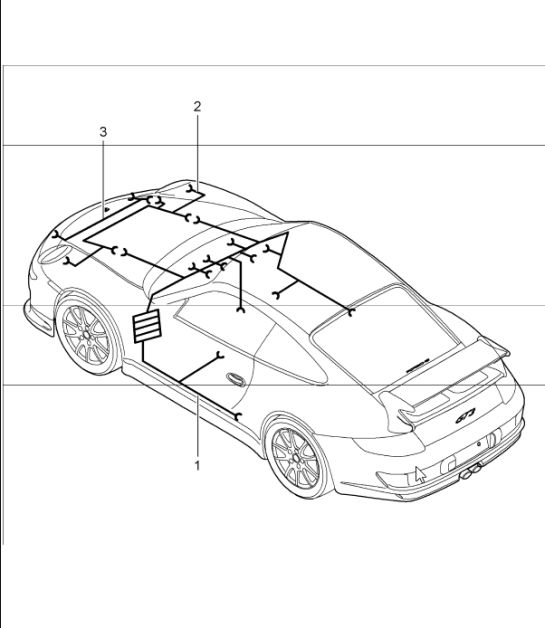 Porsche 997 Spoiler Wiring Harness Wiring Diagram Manual