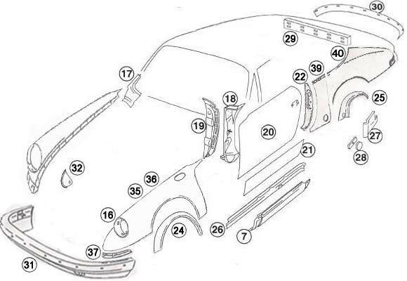 1978 porsche 911 engine diagram
