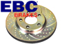 Porsche 924 1977-88 924S 2.5L 1986-87 EBC Turbo Groove Brake Disc