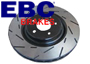 Porsche Cayenne MKII (957) 2007-10 EBC Ultimax Slotted Brake Disc