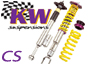 Porsche 997 MKI (911) 2005-08 KW Clubsport Coilover Suspension Kits WITH Top Mounts