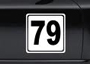 Porsche Boxster (986 / 987 / 981) Boxster 987 2.7L 2005 -08/08 Race Numbers