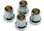 Porsche Boxster (986 / 987 / 981) Boxster S 986 3.2L 2003-04 Wheel Valves & Dust Caps
