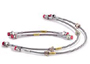 Porsche 924 1977-88 924S 2.5L 1986-87 Stainless Steel Braided Brake Lines