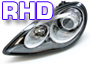 Porsche 964 (911) 1989-94 Headlamps RHD