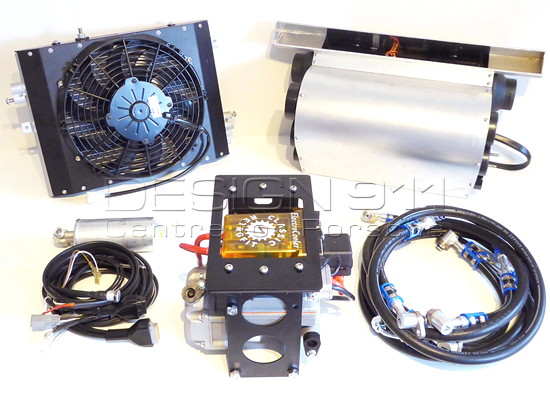 Porsche Design Cooler : Electro cooler air conditioning kit for porsche