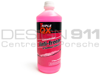Triple QX Coolant / Antifreeze 1Ltr Concentrate Bottle 5 year Red