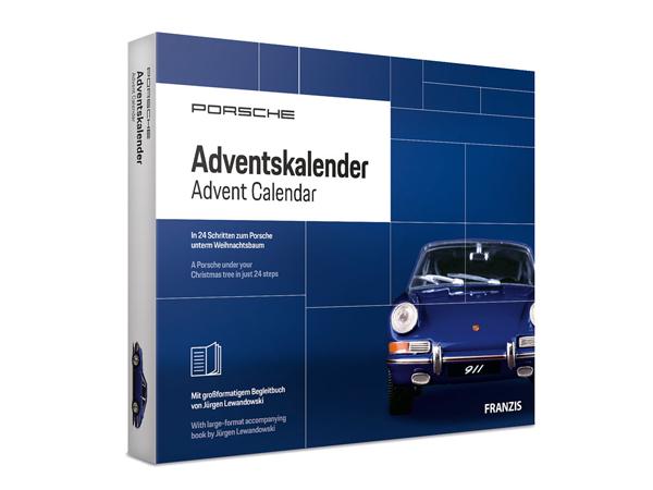 Porsche Advent Calendar, model kit 911 - 00004491105 | Design 911