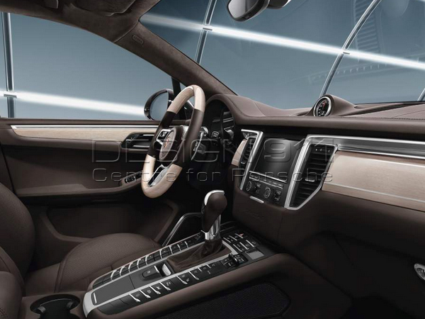Great Interior Package, Whitewashed Oak. Porsche Macan