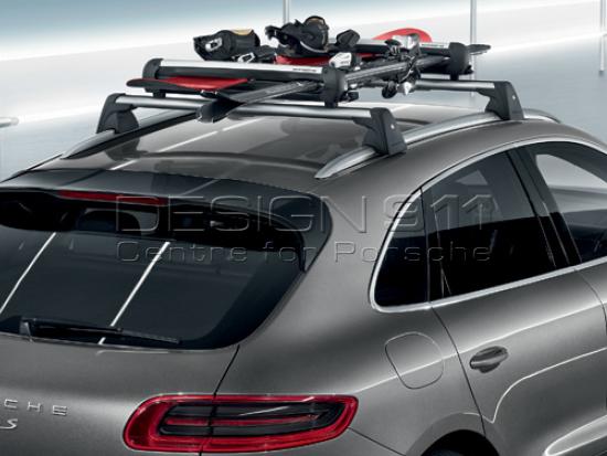 Ski /Snowboard Holder, Pull Out. Porsche Cayenne / Macan / 991.2 / Panamera