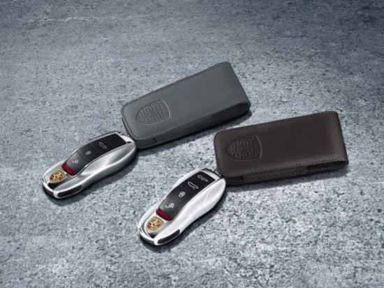 Porsche Key Pouch In Leather 970044001 Design 911