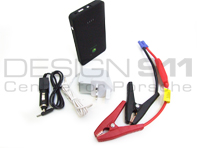 Car Battery 12V CAR JUMP STARTER & Mini POWER BANK Booster 5400 mAh