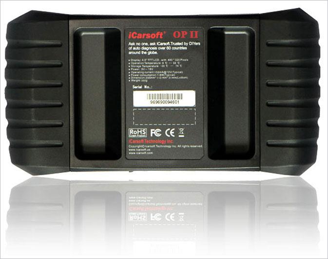 iCarsoft OBD2 OBDII Scanner Tool Code Reader ECU DTC CEL ABS SRS Audi Volkswagen