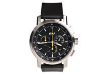 Porsche 911 Classic Chronograph Watch (Natural rubber strap)