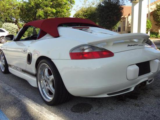 Porsche 986 Spyder Conversion Kit Trs 986 Spy Trs 986