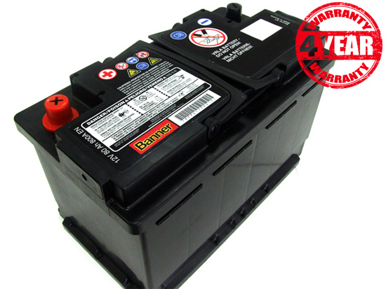 porsche 997 batteria