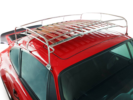 Luggage Roof Rack With Classic Wooden Slates 91180102000