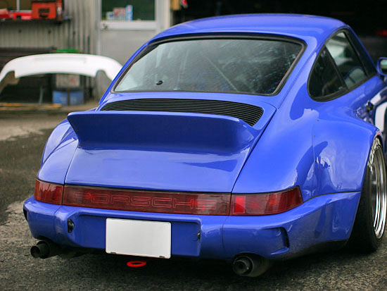 Porsche 964 Rear Duck Tail Ducktail Spoiler P964dctl