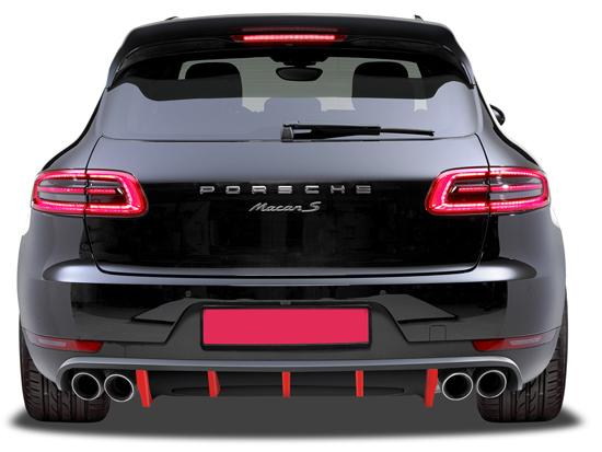 Buy Porsche Macan 95b Mk1 2014 2018 Rear Bumpers Design 911