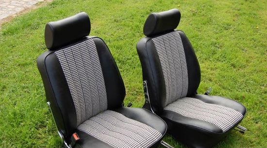 Front Seat Restoration Kit 2 Seats Porsche 911 1966 73
