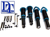 DesignTek Lowering Adjustable Coilover Suspension Kit. Porsche 996 C2 1997>>