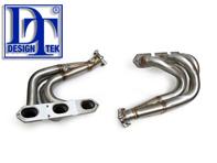 Exhaust Manifold / Header with Catalyst Bypass for Porsche Boxster 987/ Cayman   DesignTek