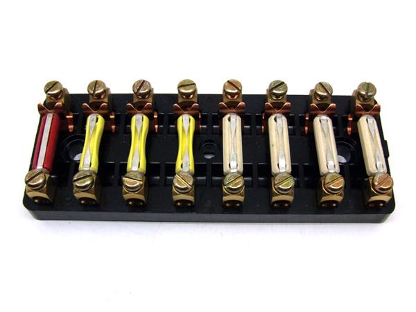 porsche 911 fuse box 8 pole 91161208701 91161208701 Porsche 914