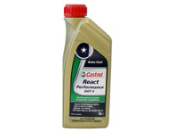 Brake Fluid DOT 4 1Ltr Bottle CASTROL React Performance