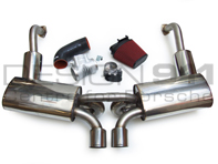 Exhaust Package + Plenum 82mm Throttle Body + Induction Kit Porsche Boxster 987 / Cayman