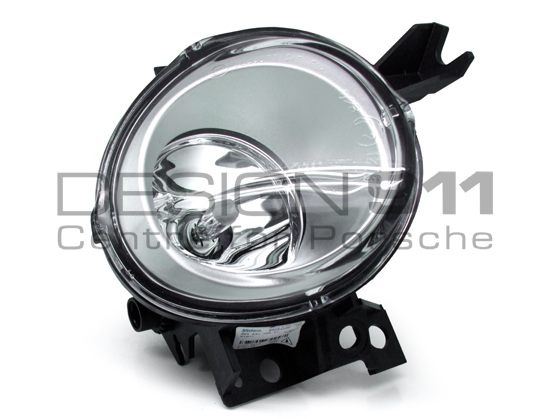 Front Fog Lamps Black Led With Drl  Daytime Running Lights   Porsche 958 Cayenne