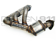 Exhaust Manifold with Catalytic Converter OE. Porsche 987 Boxster / 987C Cayman