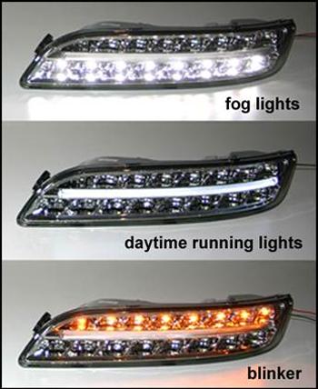 Daytime Running Lamps Drl Led For Porsche 997