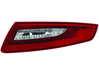 Indicator Unit Rear Clear/Red V2 with LED bulbs for Porsche 997